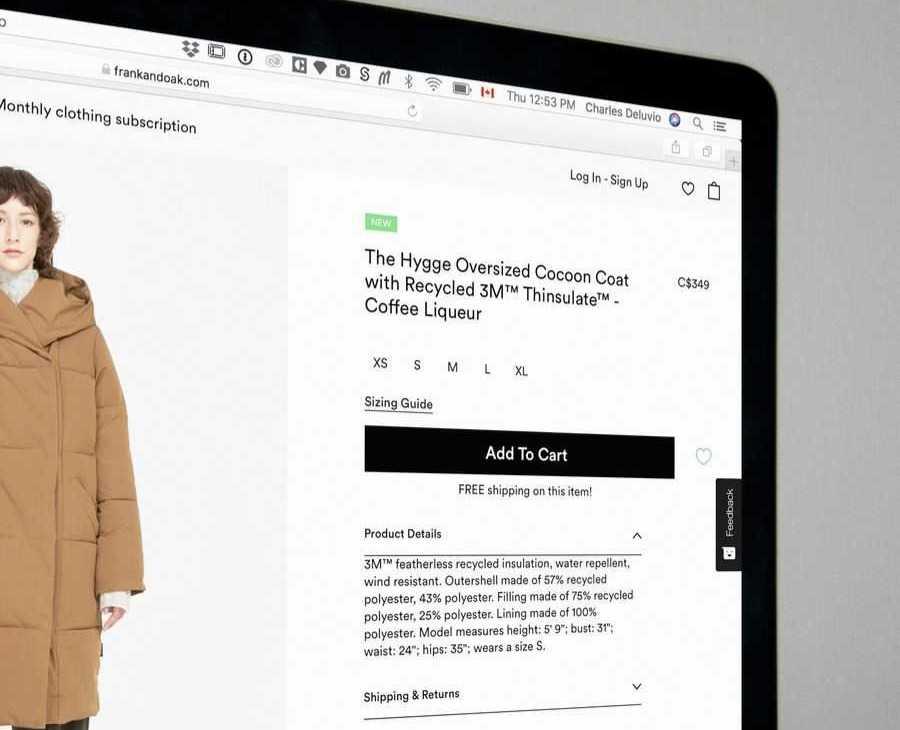 Realizzazione e-Commerce